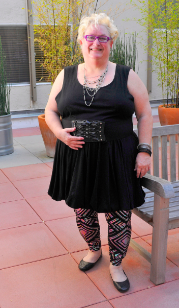 holo tights outfit  sc 1 st  Affatshionista & Review of Cult of California Plus Size 4X -5x Holographic Leggings ...