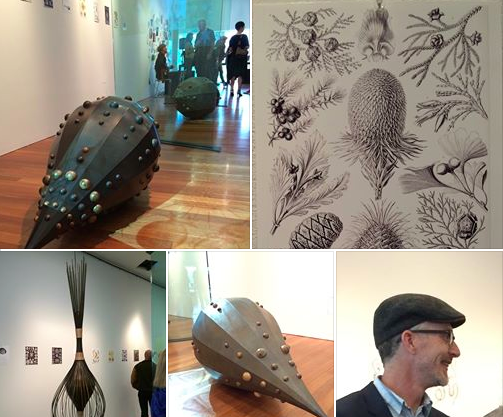 Great Closing Party for Sean Orlando at his De Young Show last night. Fabulous sculpture inspired by sea creatures, nature and drawings of Ernst Haeckel. If you missed it, check out these images and see Sean's work at his Oakland studio, Five Ton Crane. photo: Fannie Allen Designs